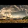 Пейзаж Облака
