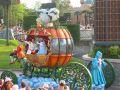 Диснейленд Парад Золушка и Принц