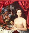 Портрет Дианы де Пуатье 1571 год