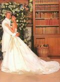 Дэвид и Виктория Бэкхем Свадебное фото