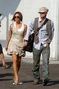 Дэвид Бэкхем с женой Викторией