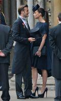 Гости церемонии - Дэвид и Виктория Бэкхмэм