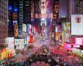 Нью-Йорк Новый год на Таймс-сквер